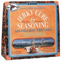 Hi - Mountain Mandarin Teriyaki Jerky Cure
