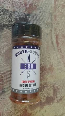 North-South BBQ Original Dry Rub (4.8oz.)