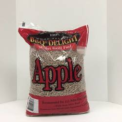 BBQR'S Delight Apple wood pellets (20 lb. bag)