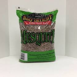 BBQR's Delight Mesquite Wood Pellets (20 lb. Bag)