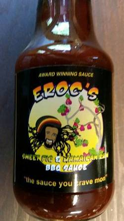 Eroc's Sweet Fig & Jamaican Rum Sauce (12 oz.)