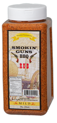 Smokin Guns BBQ Mild Rub 2 lb.
